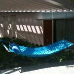 The hammock I enjoyed for an afternoon sway...