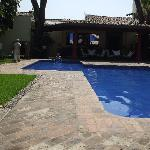 Out door pool at casa colonial