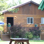 Foto de Glacier Bed & Breakfast & Log Cabins