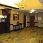 Great Falls Holiday Inn Express Lobby