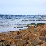 Rocky beach at Nairn