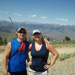 Here we are at the top of Baldy...I was pooped!