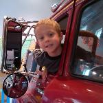 The fire truck is all great fun