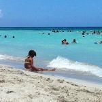 Beach at 200 m from Casa Lida
