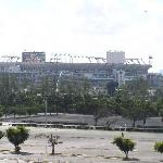 Sun Life Stadium taken from room balcony