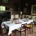 Dining room, where we enjoyed a delicious dinner