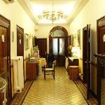 The hallway inside