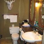 Banff Caribou Lodge Standard Room Bathroom