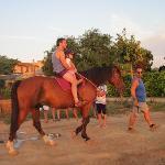 Una passeggiata a cavallo gentilemente offerta dal Barbadoro
