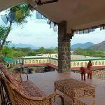 Thai Nadu, view from the Mandapam