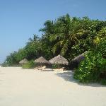 beach villas...