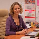 Elena Ulko at work