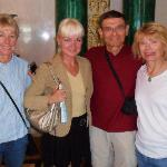 Mark Levy group on tour with Diana