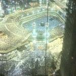 Kaaba view from the room
