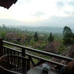 vue depuis balcon villa familiale