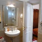 bright large bathroom