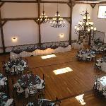 Gloryridge Ballroom before a Wedding