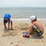 nice sand!