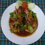 tiger prawn tamarinds sauce