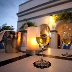 Join us for a glass of wine as the sun sets