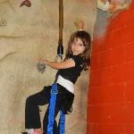 Enjoying the Rock Climbing! (Do it as many x's as you want w/the unlimited action city pass!)