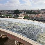 Tiled map of Lisbon
