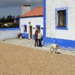 The old dairy farm with Catia