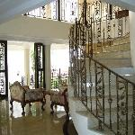 Casa Nicarosa Hotel's lobby