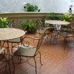 Guests can enjoy their breakfast/lunch/dinner at the hotel's terrace.