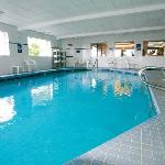 Relax in the sparkling indoor pool and spa, open 24hrs. for your convenience.