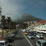 Camp's Bay from the City Sightseeing Bus Stop