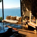 Living Room & Lake View