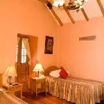 """Room #201 with colonial ceiling """"Par y Nudillo"""""""