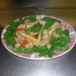 Chicken With Snow Peapod
