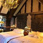 Your bedroom of 2 Queen size beds