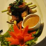 FOOD AT BUZZCZAR-VIETNAMESE SUGARCANE PRAWNS