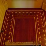 inlaid wood floors