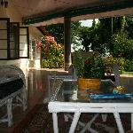 Front Porch , where one can have their morning/ evening tea and enjoy the view