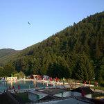 Chiflik hotel main pool - very warm water