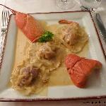 Les ravioles de homard
