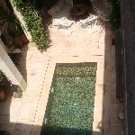 Cool clean swimming pool, just what you need at the end of a shopping spree round the souks