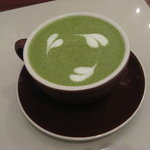 green tea latte~