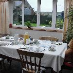 tavolo sala colazione