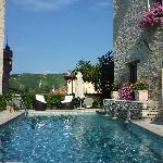 Ete 2011 - La piscine de l'hôtel