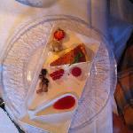 Signature cheese cake (Ostekake) - yummy!