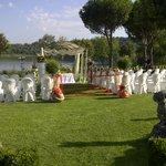 Tenuta S.Andrea - Allestimento gazibo per nozze