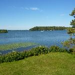 Gull Lake view from the room
