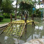 Part of the kiddie playground