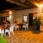 Al-fresco dining under the stars