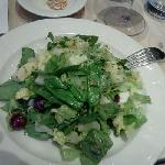 Romaine and spinach salad
